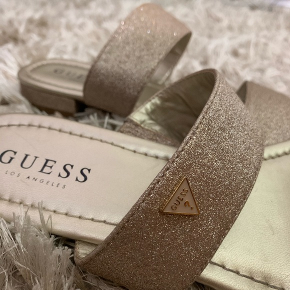 Guess Shoes | Rose Gold Sandals | Poshmark
